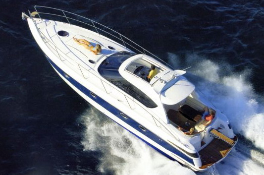 Definitely the yacht cannot shine so much, as Azimut and Benetti, ...