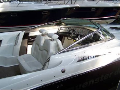 The motor boat Cobalt 343 is having length of ...