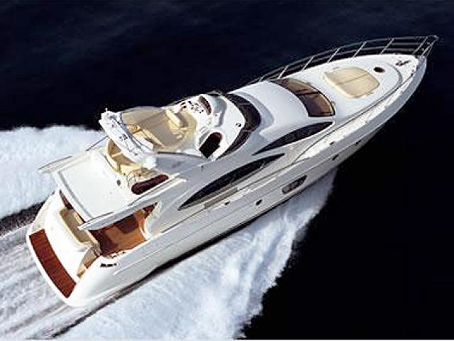 Azimut 68 Evolution is one of the most beautiful and luxury yachts from the ...